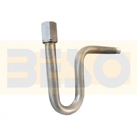 Smyčka kondenzační zahnutá přivařovací PN 250